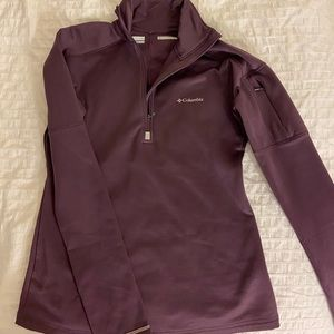 Columbia Omni-wick fleece lined pullover